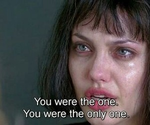 sad, Angelina Jolie, and quotes image