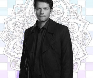 icon, castiel, and misha collins image