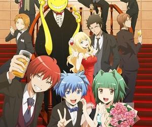 assassination classroom, anime, and karma image
