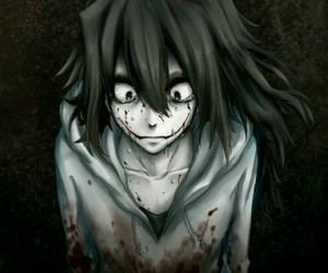 jeff the killer and creepypasta image