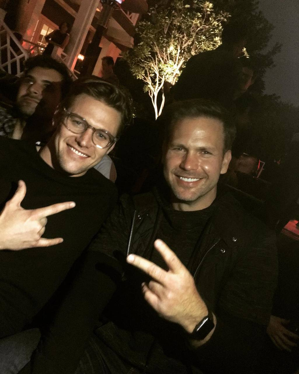 Zach Roerig and matt davis image