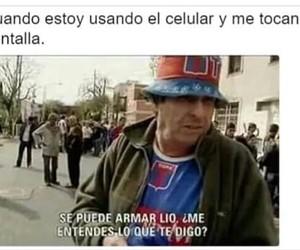 argentina, joder, and celular image