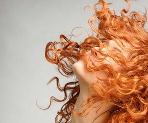 girl, hair, and ginger image