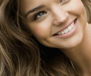 miranda kerr, hair, and smile image