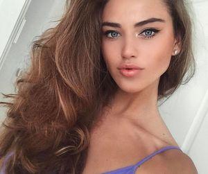 beautiful, russian Girl, and girl image