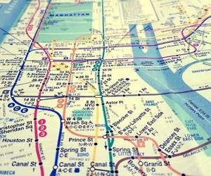 2008, nyc, and maps image