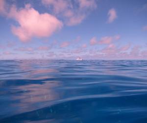 sky, ocean, and sea image