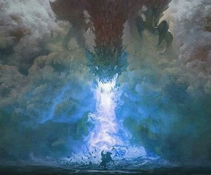 dragon, game of thrones, and fantasy image