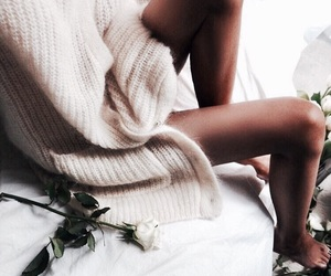 fashion, sweater, and legs image