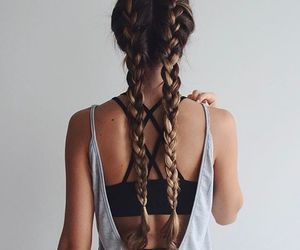 beautiful, braid, and Dream image