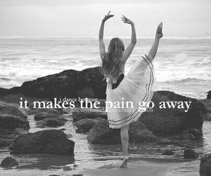 dance, pain, and ballet image