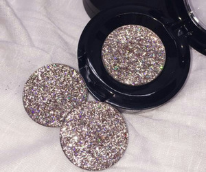 makeup, glitter, and luxury image