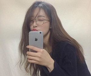 asian, glasses, and hair image
