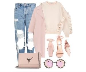 boyfriend jeans, fashion, and fashion blogger image