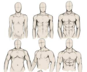 body, art, and drawing image