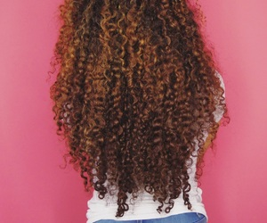 beauty, brown hair, and hair image