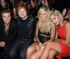 Harry Styles, rita ora, and ed sheeran image