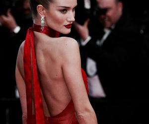 model, cannes, and red image