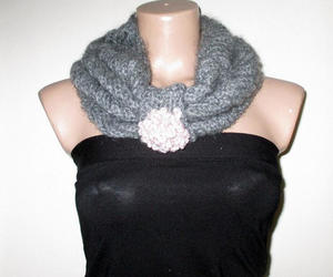 etsy, womens accessories, and fashion scarf image