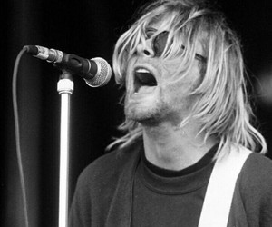 beautiful, cobain, and singer image