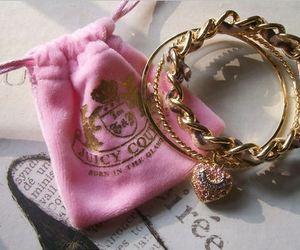 juicy couture, bracelet, and pink image