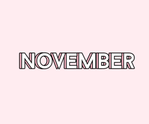 months, november, and pastel image
