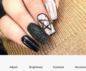 alt, grunge, and pentagram image