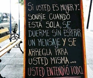 frases, mujer, and quotes image