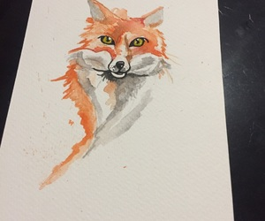 color, draw, and fox image