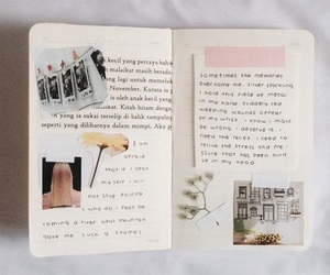 diary, art, and creative image