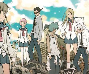 anime, soul eater, and black star image
