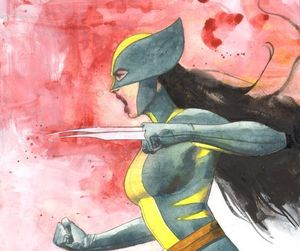 Marvel, wolverine, and x-23 image