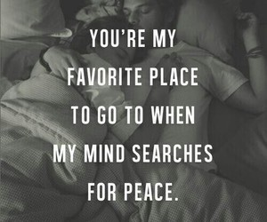 love, quotes, and peace image