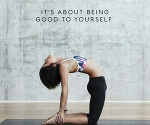 yoga, fitness, and motivation image