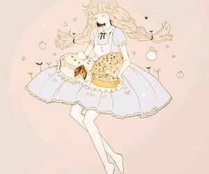 anime girl, tofuvi, and anime image