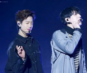 friendship, k-pop, and mark tuan image