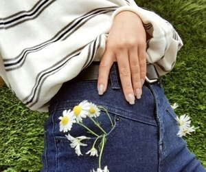 flowers, fashion, and grunge image