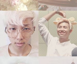 bts, rap monster, and aesthetic image