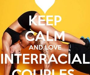 interracialcouple, interraciallove, and interracialfamily image