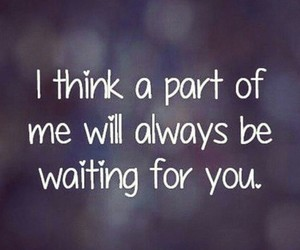 quote, waiting, and you image