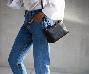 celine, jeans, and fashion image