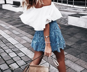 girl, style, and summer image