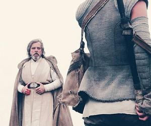 jedi, lightsaber, and luke skywalker image