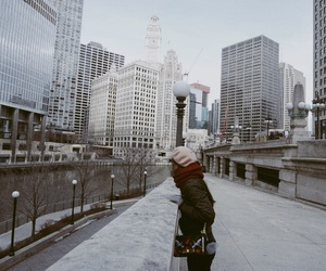 america, trump tower, and chicago image