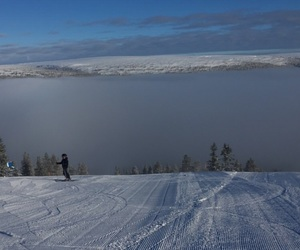 mountain, ski, and sweden image