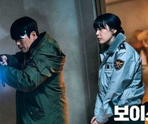 police officer, voice, and kdrama image
