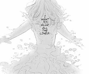 b&w, manga cap, and black and white image