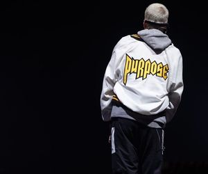 justin bieber and purpose tour image