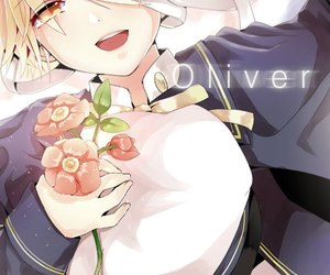 vocaloid, flowers, and oliver image