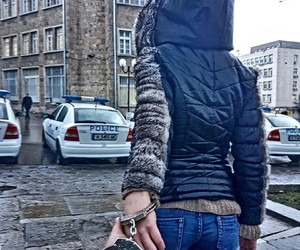 bulgaria, funny, and handcuffs image